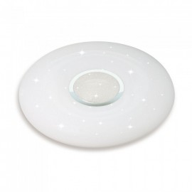 60W LED Dome Light Remote Control Color Changing Diamond Round Cover