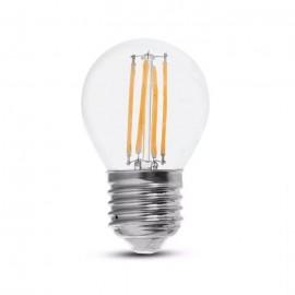 LED Bulb - 6W Filamen E27 G45 Clear Cover 4000K