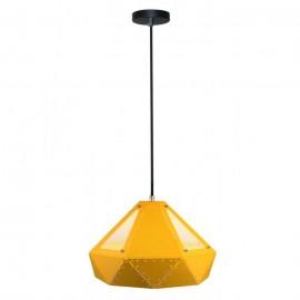 Pendant Light Pastel Prism Yellow 310 x 180 mm