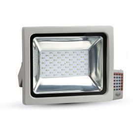 30W LED Floodlight SMD - RGB With Radio Remote