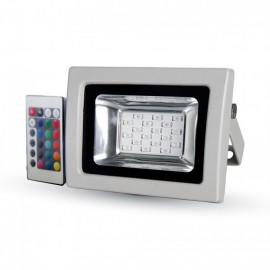 10W LED Floodlight SMD - RGB With RF Remote
