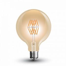LED Bulb - 8W Filament E27 G95 Amber Warm White