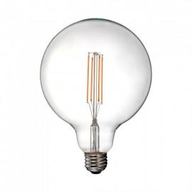 LED Bulb - 12.5W Filament E27 G125 Clear Cover 3000K