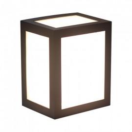 12W LED Wall Light Black Body Warm White
