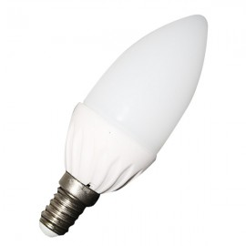 LED Bulb - 4W E14 Candle Warm White